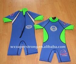2014 Hot selling Neoprene Kids Wetsuits,designed for 3-12yr Children