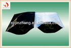 Bottom gusset plastic bag with zipper for food