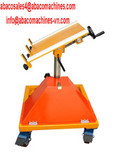 Rotating Sand Blasting Table The ABACO Carry Clamps material handling equipment