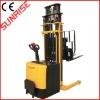 Standing type 1000/1500/2000kg capacity 2.5m Full electric stacker in Material Handling Equipment