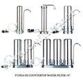 mesa de acero inoxidable filtro de agua potable
