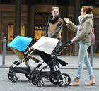 I-S021 EN1888 AS/NZS2088 ASTM F833-10 New Design (May Choose Carry Cot) Flagship Brand New Baby Stroller