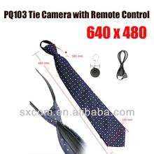 mini hidden camera tie shape DVR Tie with remote controller