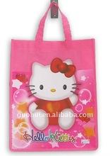 2014 the latest fashion hello kitty reusable shopping bag
