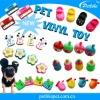 2014 china custom vinyl dog toy small pet toy china wholesale manufacturer