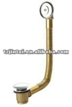 brass bathtub drain B2001