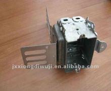 "3""x2"" Galvanized iron electrical control box with bracket"
