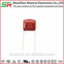 Metallized polyproplye film capacitor 105K 250V