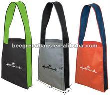 Promotional canvas shoulder bag/woman shoulder bag