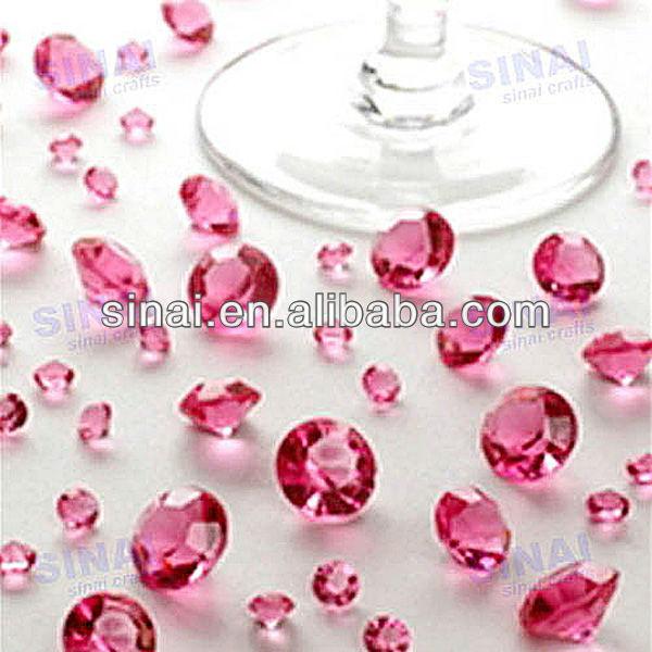 Preço de fábrica decoração do casamentomuito brilhante diamante