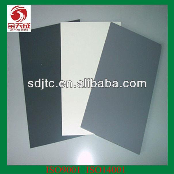 thin folha de pvc 1mm para clading parede