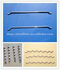 hooked steel fiber, Xorex steel fiber, wavy steel fiber for concrete reinforcement