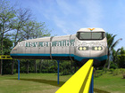 Amusement park electric ride on train for sale