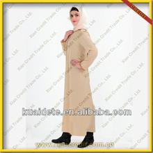 2014 neuesten mit kapuze kaftan marokko/muslimischen abaya/langes kleid