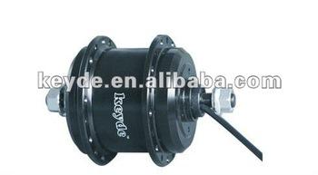 24V 33V 36V brushless gearless electric bicycle disc brake motor with controller inside