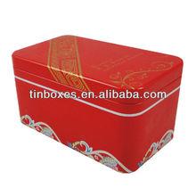 chinese rectangular metal tin , metal tin can ,metal tin box