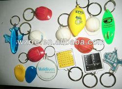 Hot Sale Metal/plastic custom made metal key chain,keychains