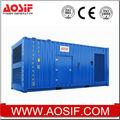 Kva 1000 contenedores tipo de generador diesel, grupo electrógeno insonorizado, grupo electrógeno de potencia