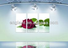 Multi-panel waterproof canvas art printing