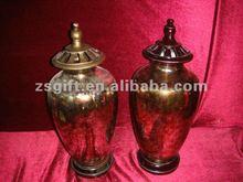 antique design handicrafts glass bottle christmas decor