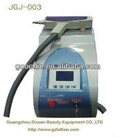 High quality Q switch nd yag tattoo removal laser machine (JGJ-003)
