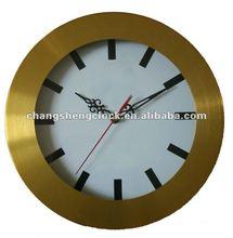 12 inches decorative clock brass colour clock