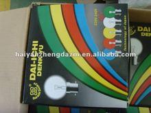 G45/G40 15w clear colour incandescent/decorative bulb/light