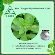 organic stevia rebaudiana P.E./ stevia extract 99% Steviosides/ 98% Reb-A
