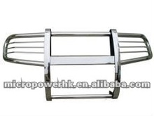 AU Style Stainless Steel Chromed Front Grille Bumper Guard for 08-11 Toyota Land Cruiser LC200