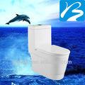 Céramique siphonic one- pièce de toilette filigrane