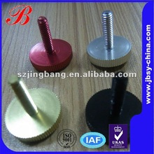 Different colours with different types knurled thumb screw
