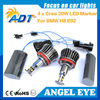 360-Degree 20W XP-E CREE High Power Canbus H8 LED Angel Eyes Marker headlight for BMW 1 3 5 Series Z4 X5