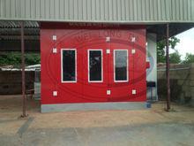 WLD9000 Car Spray Booth for Nigerian market (Luxury Type) (CE)