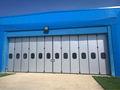 Porte pliante Plexiglass Garage Industriel