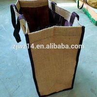 cheap custom jute bags for packing wheat