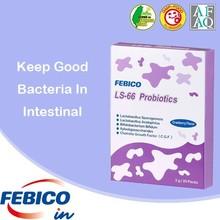 Lactobacillus Sporogenes Probiotics stored at room temperature and still maintain a high survival rate