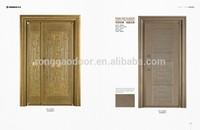 Best selling double panel side cast copper exterior security door/steel entrance door