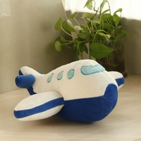 OEM ICTI eco-friendly soft plush baby toy stuffed airplane