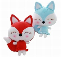 OEM ICTI eco-friendly soft plush baby toy stuffed fox