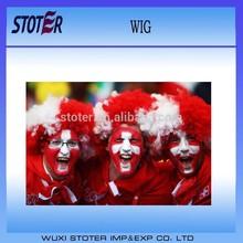 Switzerland carnival football fans wig