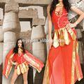 2015 egito cosplay traje sexy vestido de cleópatra
