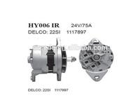 Delco series alternator ;24V/75A alternator for heavy truck
