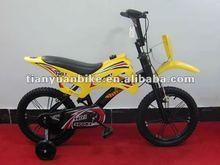 2012hot selling stylish motocycle style child bicycle