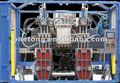 Pequeña botella cosmética automática de moldeo por extrusión soplado máquina szk- 652yp4- 2.5l