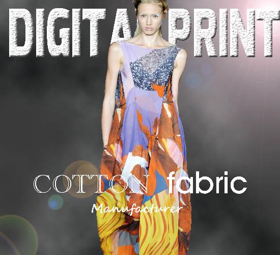 Digital Printing 100% Cotton * Fabric Print