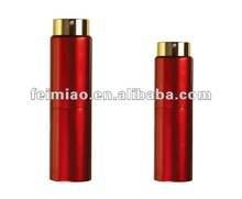 cheap glass cosmetic bottle with electrized aluminum surface and spraying hole for essence