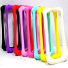 Bone Shape Frame Silicone Case for iPhone 4/4S
