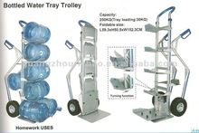Foldable Aluminum bottled water tray trolley Hand trolley ZTC-017