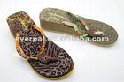 fashion lady eva high heel wedge slipper ladies footwear pictures