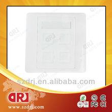 SC fiber optic face plate